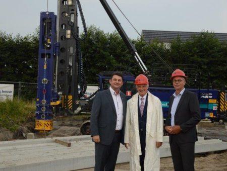 Officiële paal geslagen nieuwbouwplan Unjerhof