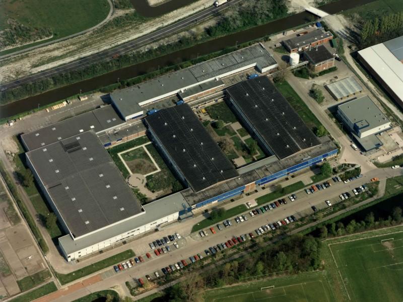 luchtfoto Philipsterrein