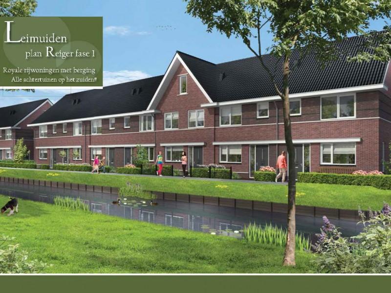 voorzijde Brochure Leimuiden rijwoningen lowres