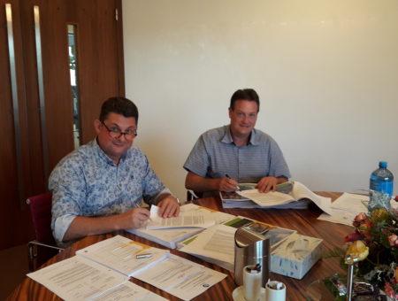 Samenwerkingsovereenkomst Buitenplaats 3a De Goorn getekend