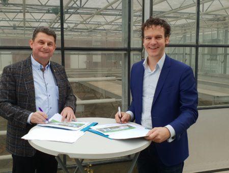 Ondertekening intentieovereenkomst 60 woningen Tuitjenhorn