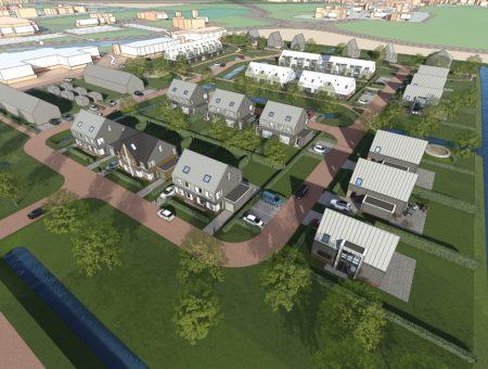 Vertraging woningbouw aan Delftweg in Tuitjenhorn