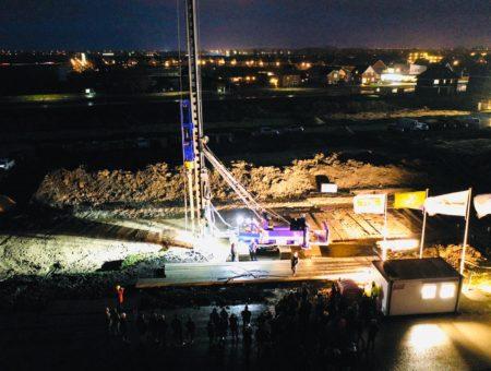 Wethouder slaat eerste paal nieuwbouwplan Buitenplaats fase 3b in De Goorn