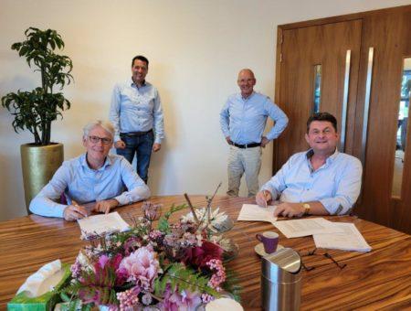 Samenwerkingsovereenkomst Holenkwartier 1b getekend
