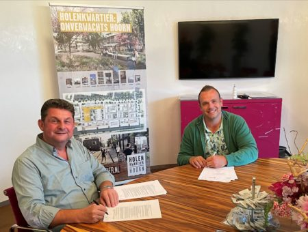 Bouwteamovereenkomst Holenkwartier getekend