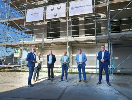 Start bouw Wilhelminahaven fase 1 gevierd